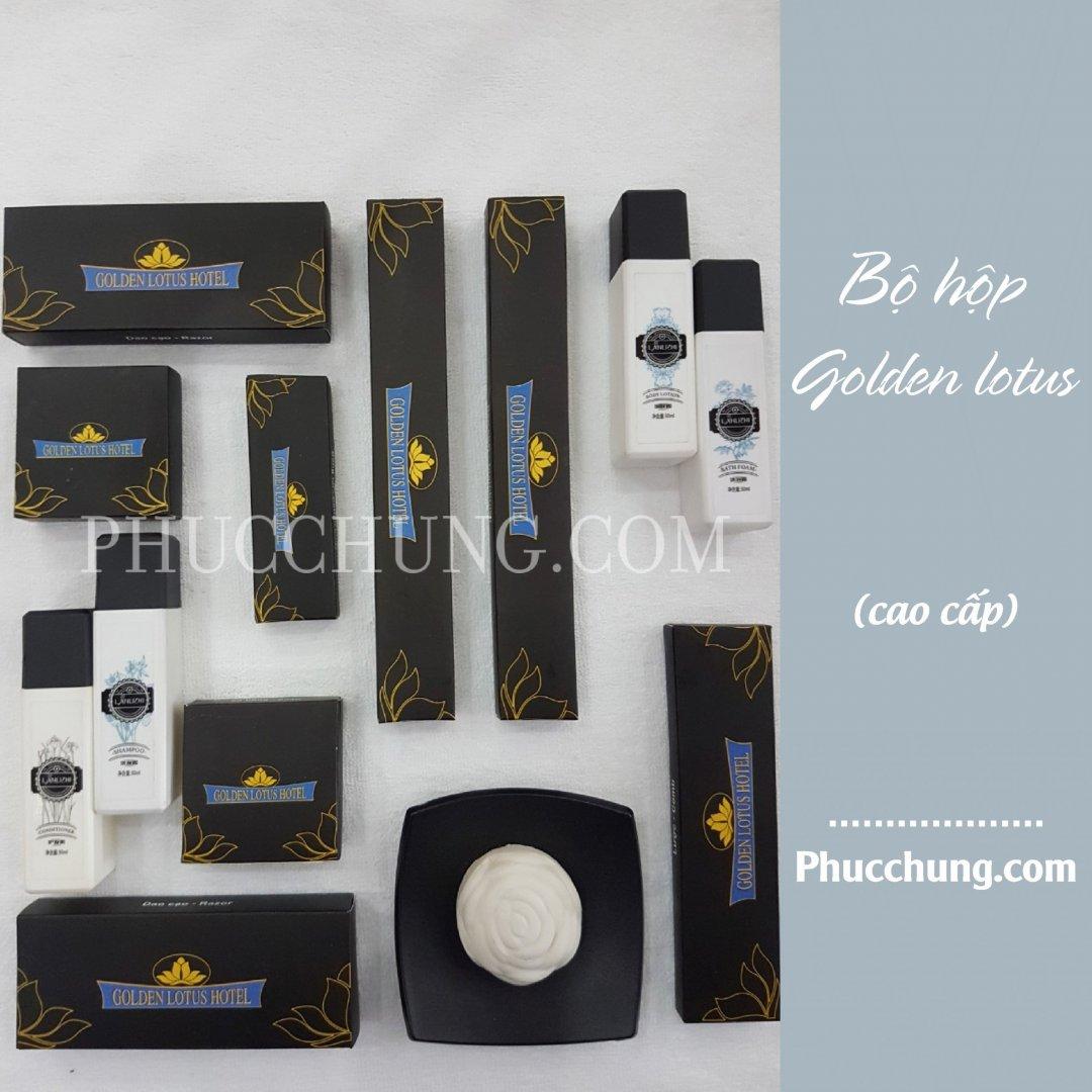 Bộ hộp Sen Vàng – Golden Lotus Hotel
