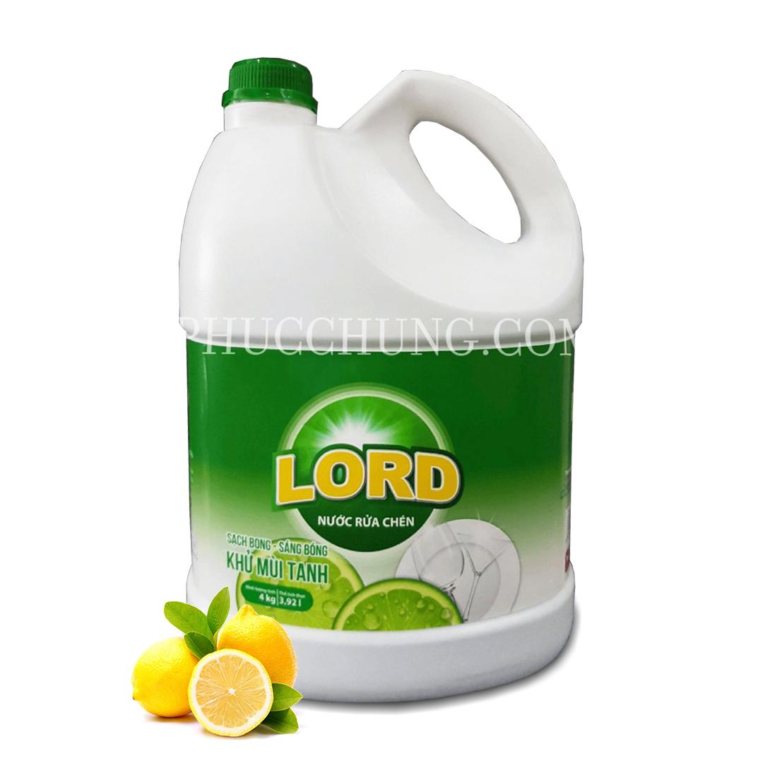 Nước rửa bát Lord Can 10L
