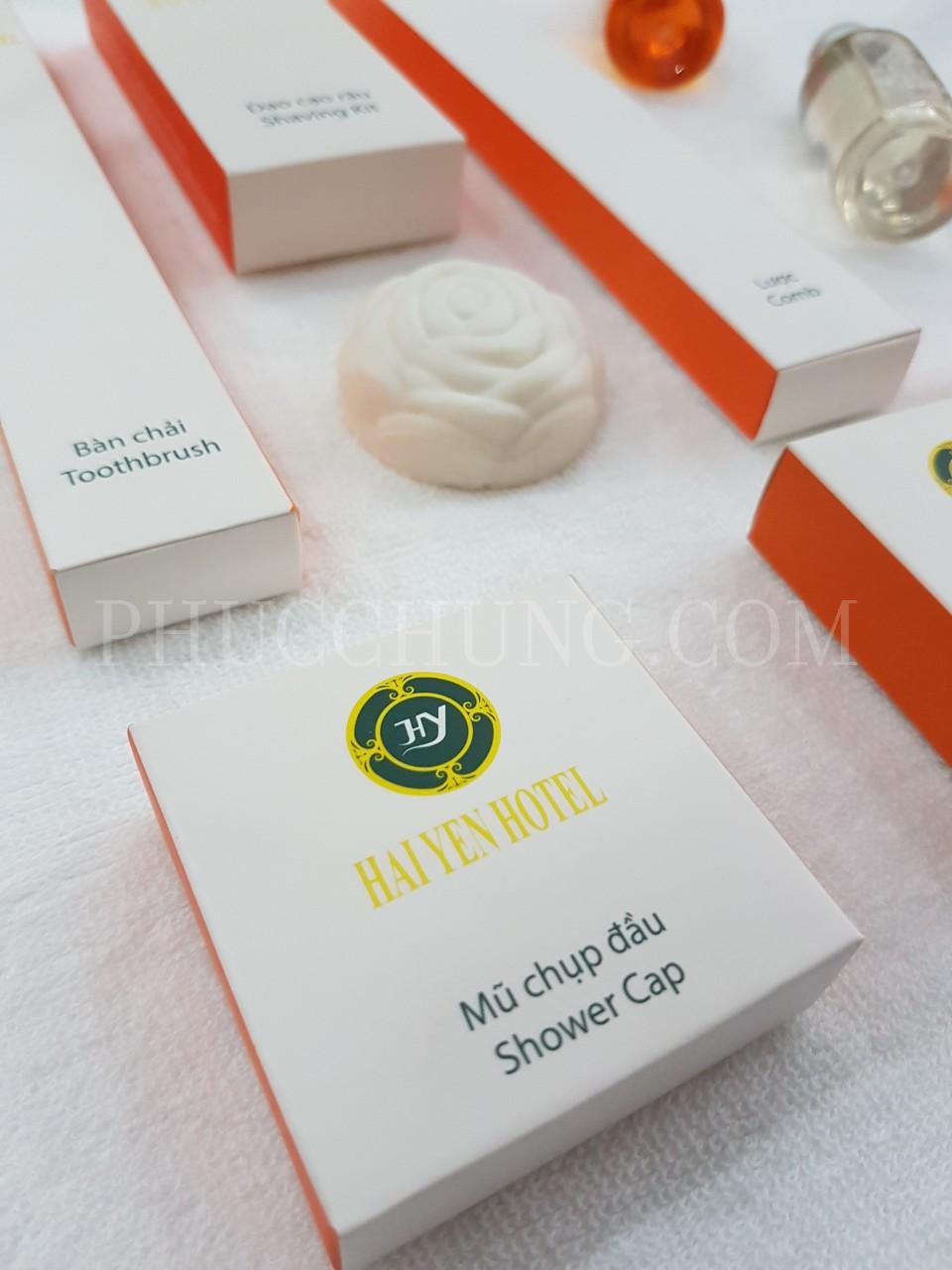 Bộ Amenities hộp giấy khách sạn Hải Yến