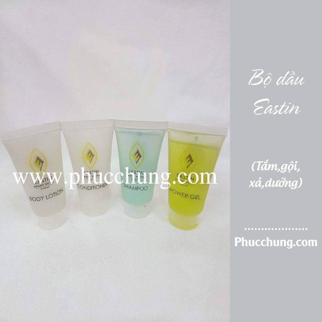 Bộ dầu Eastin (tắm,gội,xả,dưỡng)