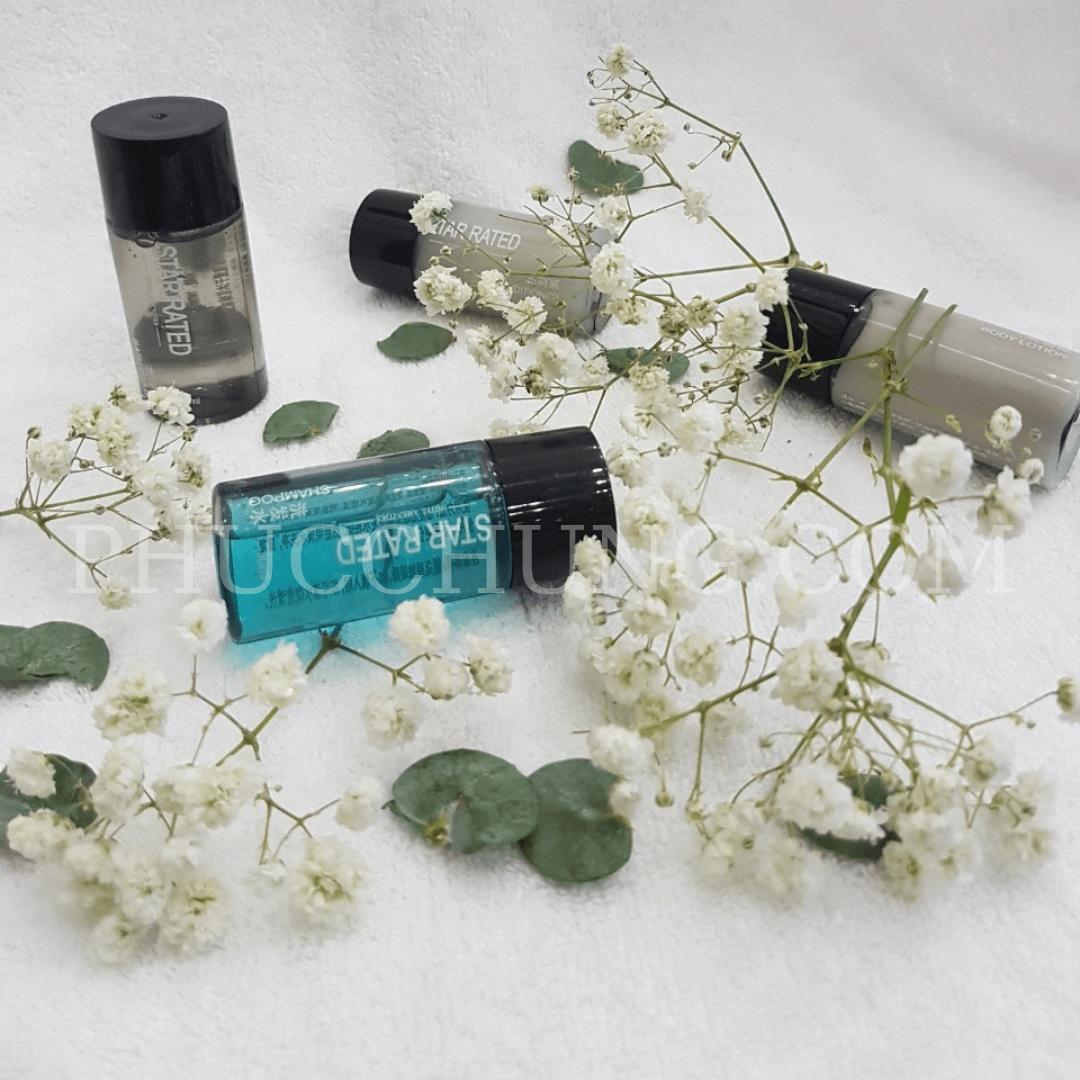 Bộ gội – tắm mini Star Rated